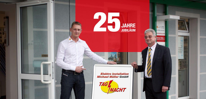 25 Jahre Elektro Müller - Ihr Elektriker in Teltow - Michael Müller